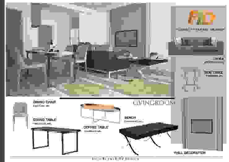 CIRCLE 2 (STYLE LUXURY): ผสมผสาน  โดย Future Interior Design Co.,Ltd., ผสมผสาน