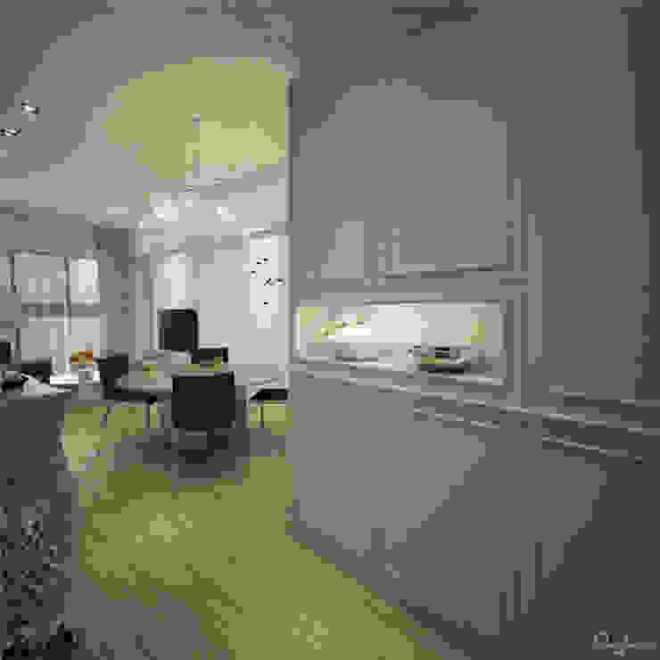 🍀 現代風玄關、走廊與階梯 根據 宇喆室內裝修設計有限公司 現代風