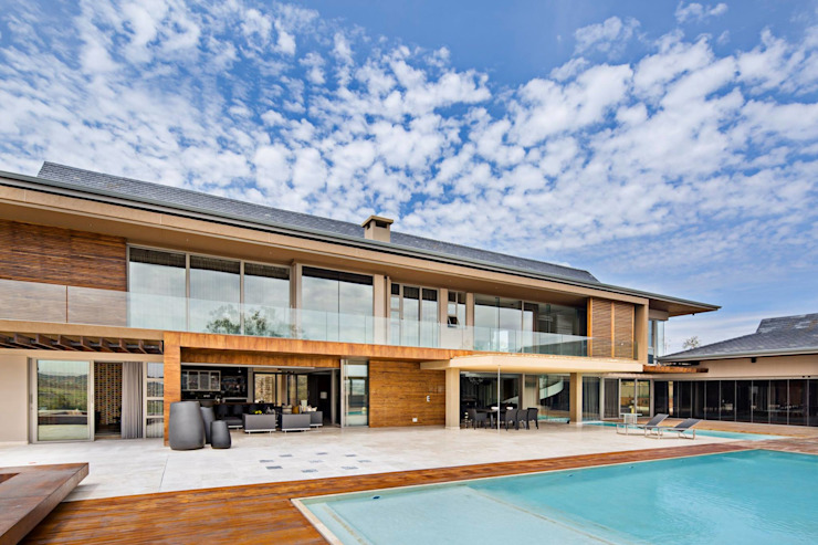 Private residence Midrand:  Houses by Gelding Construction Company  (PTY) Ltd,