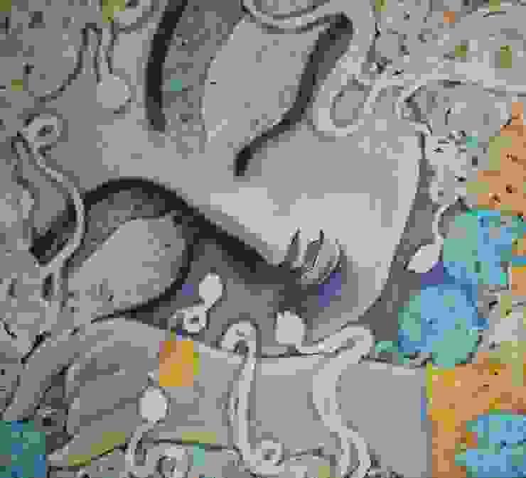 Tathagatha: asian  by Indian Art Ideas,Asian