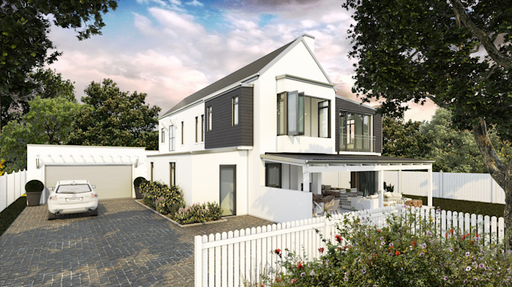 Constantia Development:  Houses by Modo, Modern