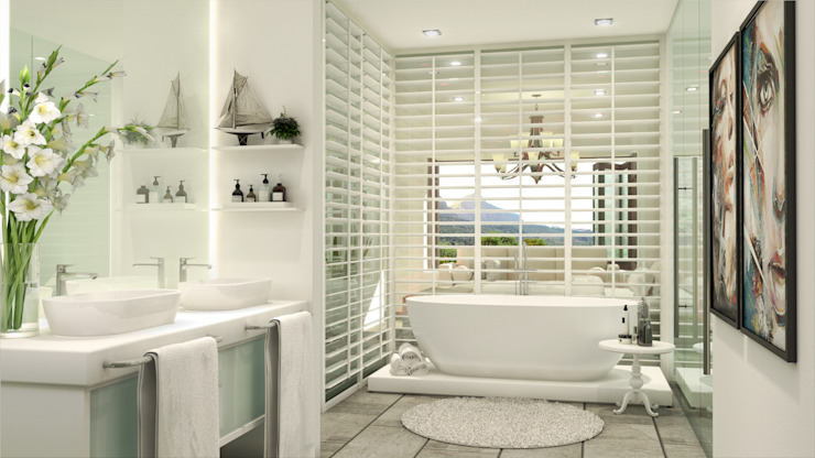 Constantia Development Modern bathroom by Modo Modern