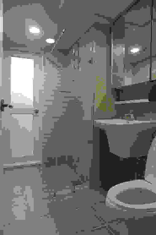 센텀비치푸르지오 35평형 인테리어 모던스타일 욕실 by 빅터인디자인그룹 모던