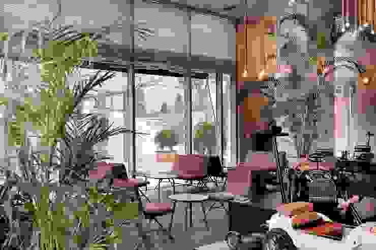 디트로네 카페 모던 스타일 바 & 클럽 by 스타일 지음 style jieum 모던