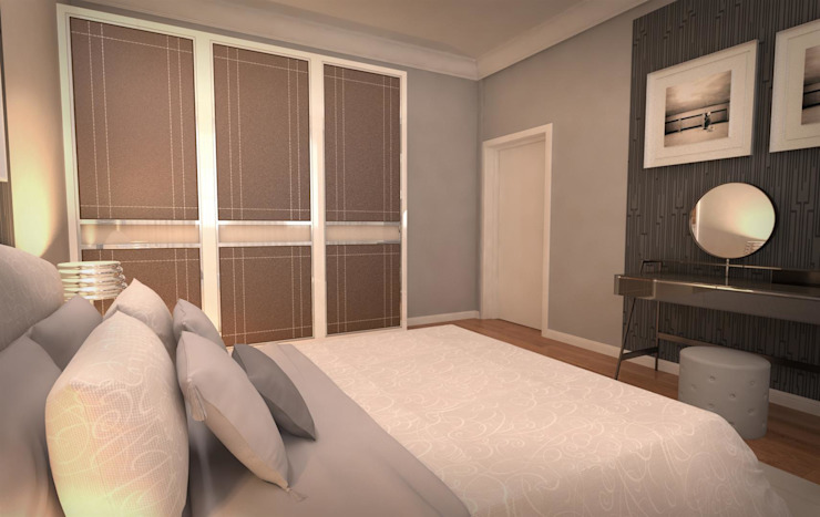 Modern style bedroom by GEKADESIGN Modern