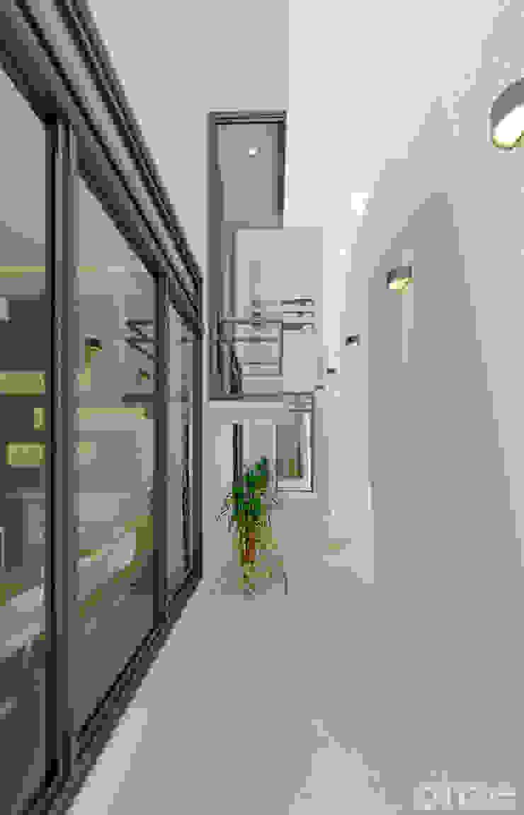 Taller Onze ห้องโถงทางเดินและบันไดสมัยใหม่