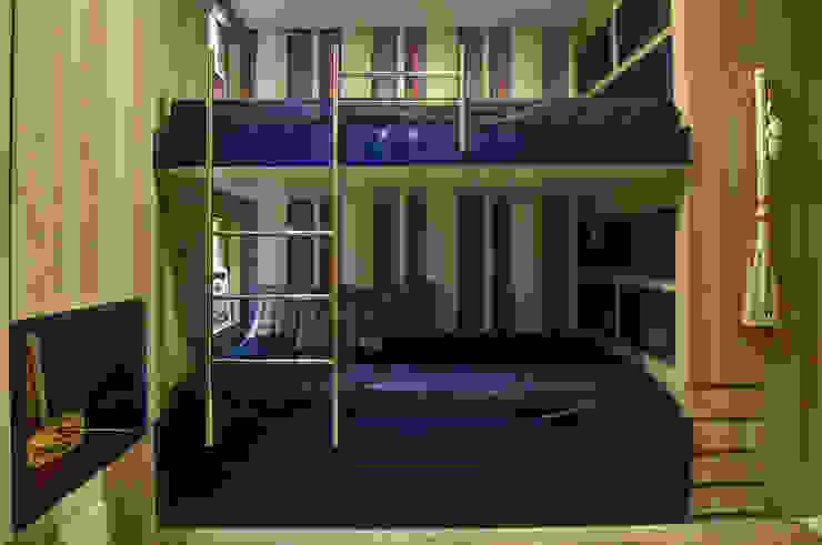 Quarto menino Arquiteta Raquel de Castro Quartos modernos Azul