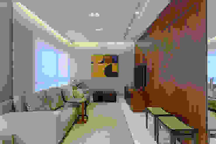 Sala De Estar : Salas de estar  por Renata Basques Arquitetura e Design de Interiores,Moderno
