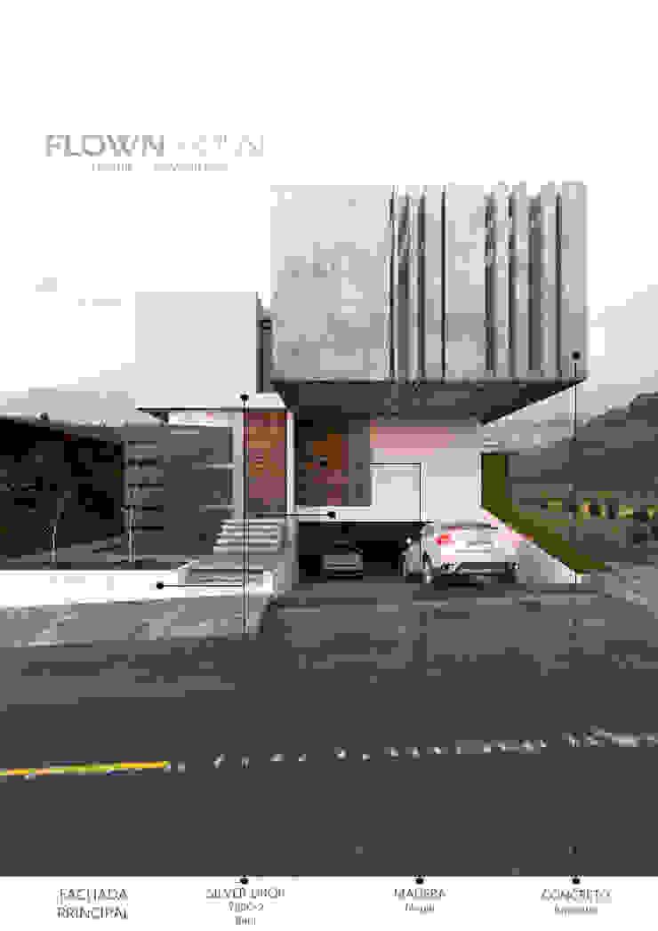AS. ARQUITECTOS Minimalist house Concrete White