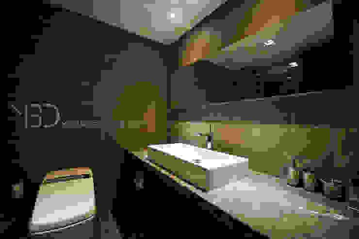 깔끔한 라인의 호텔같은 욕실 모던스타일 욕실 by 영보디자인 YOUNGBO DESIGN 모던