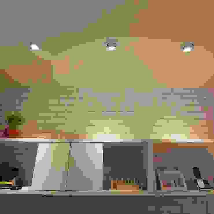 小空間大利用 根據 豪斯室內空間設計 隨意取材風