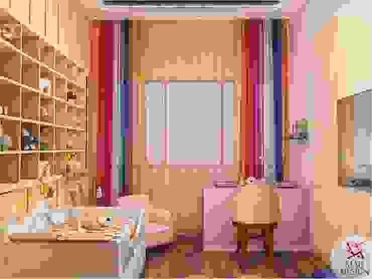 KIDS ROOM - VIEW 2 Minimalist nursery/kids room by homify Minimalist