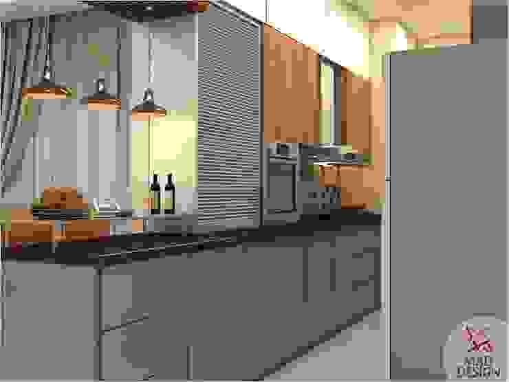 KITCHEN VIEW 1 Minimalist kitchen by homify Minimalist