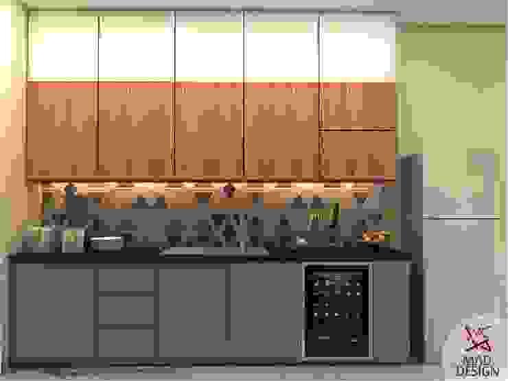 KITCHEN - VIEW 2 homify Minimalist kitchen