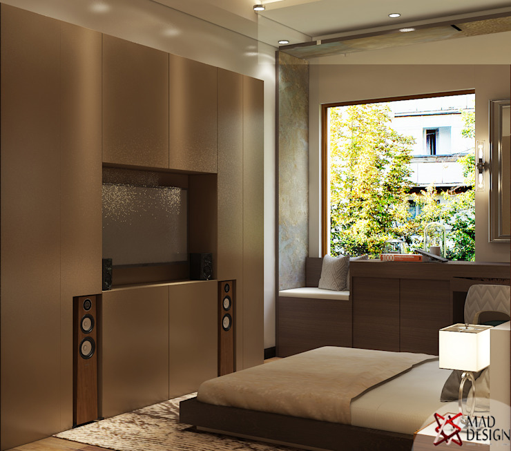 MASTER BEDROOM VIEW 1 homify Minimalist bedroom