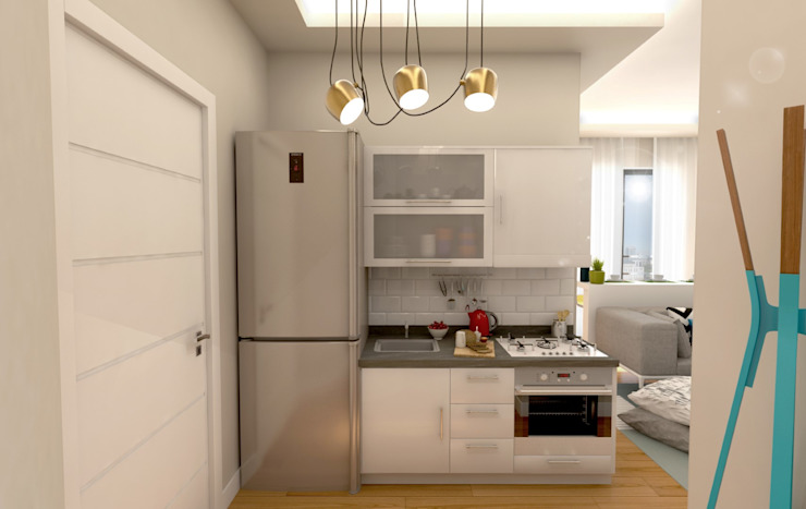 Modern kitchen by GEKADESIGN Modern