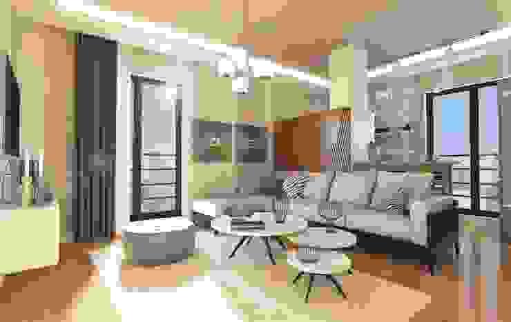 Modern living room by GEKADESIGN Modern