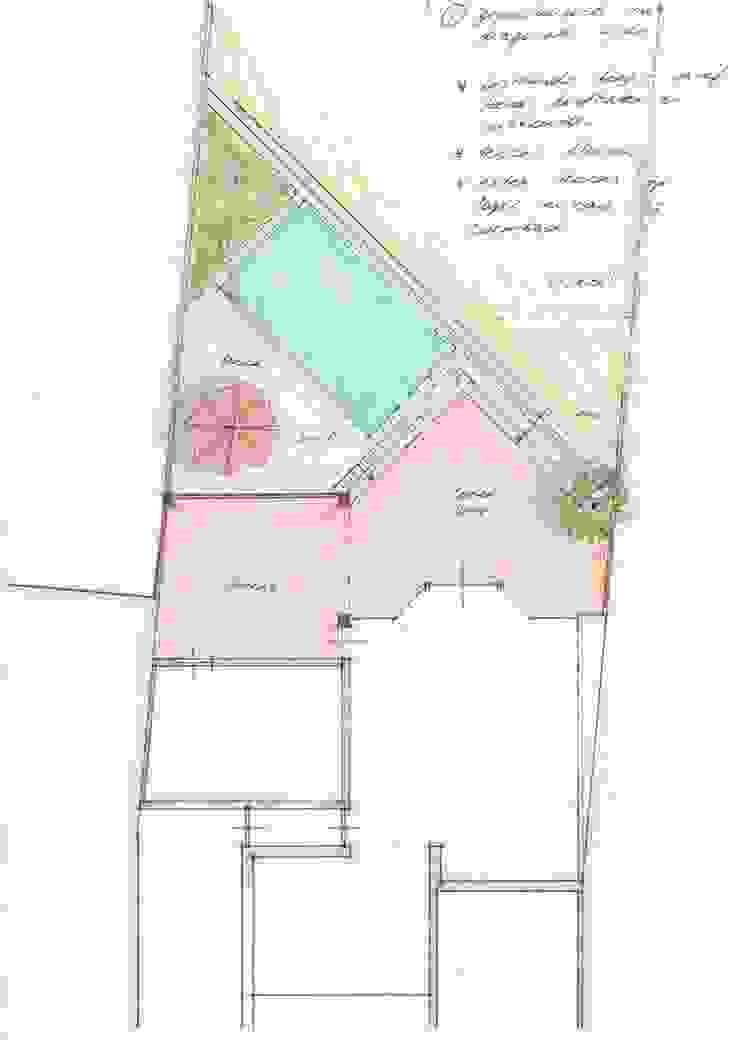 Diagonale opstelling van Gaby Paulissen Architect