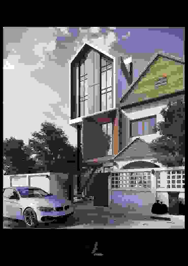Renovata House, K.JAW โดย HAA studio