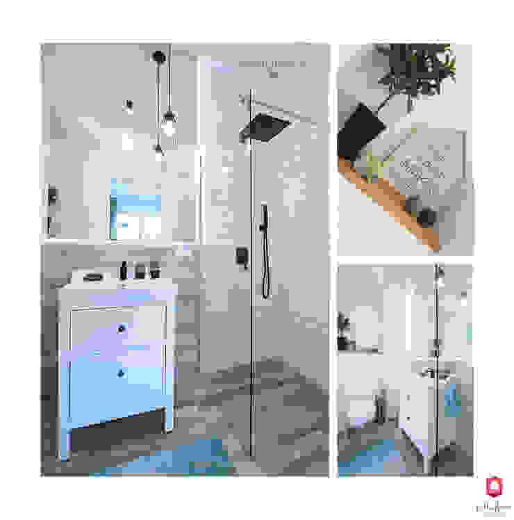 Scandinavian style bathroom by Mlamp Scandinavian