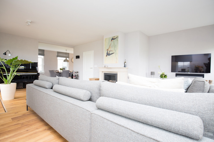 Interieurontwerp Beltrum Landelijke woonkamers van Mignon van de Bunt Interieurontwerp, Styling & Realisatie Landelijk