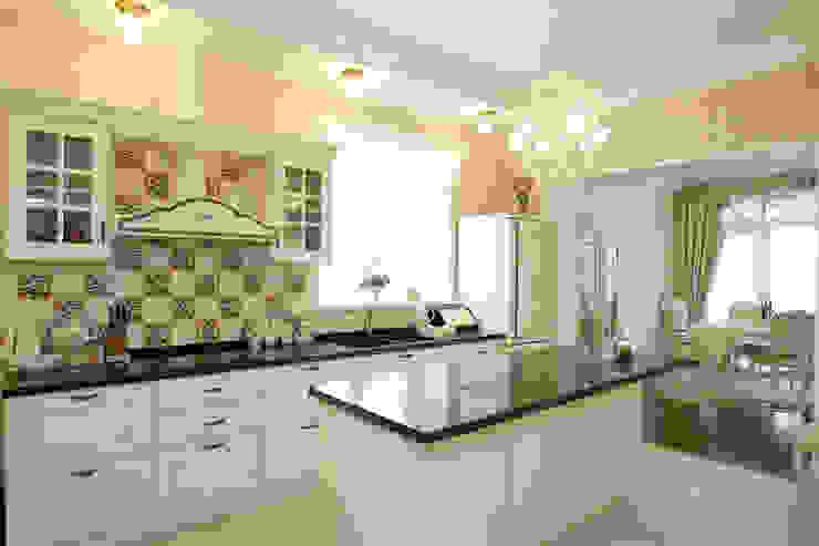 ห้องครัว โดย дизайн-студия Пространство Дизайна, คันทรี่