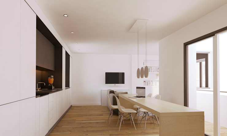 Modern living room by GokoStudio Modern