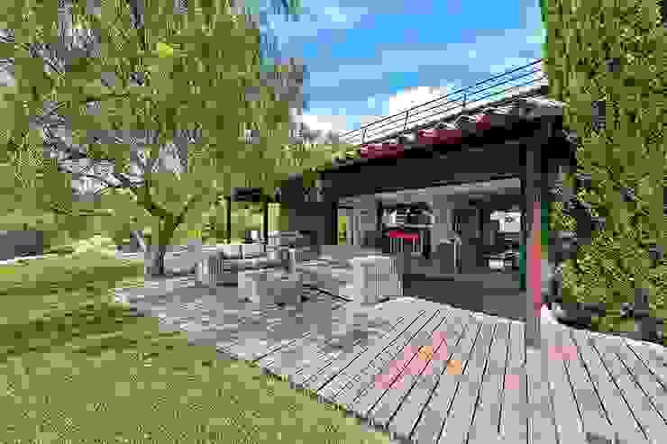 Balkon, Beranda & Teras Gaya Mediteran Oleh Atelier Jean GOUZY Mediteran
