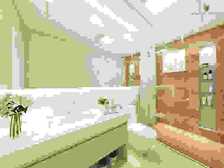 Baños de estilo moderno de iost Arquitetura e Interiores Moderno Cerámico
