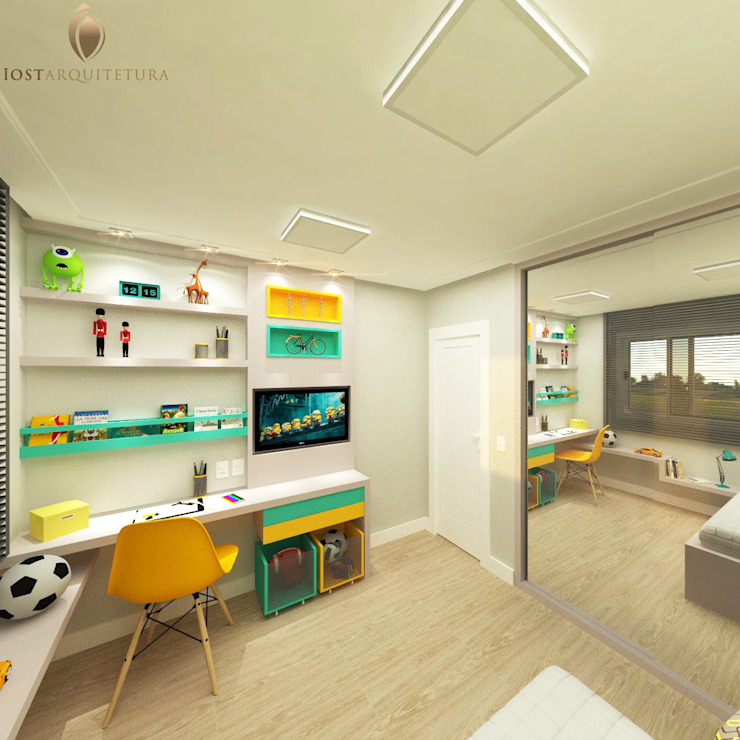 Modern nursery/kids room by iost arquitetura Modern