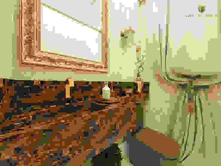 Lavabo Luxo: Banheiros  por iost arquitetura,Clássico