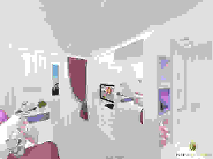 Dormitório de menina Quartos modernos por iost arquitetura Moderno
