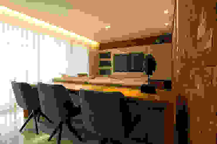 Apartamento Vila da Serra Salas de estar modernas por Stark Arquitetura Moderno