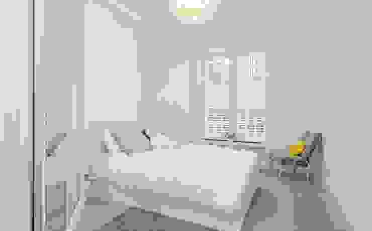 Bedroom Dormitorios de estilo moderno de Patience Designs Moderno
