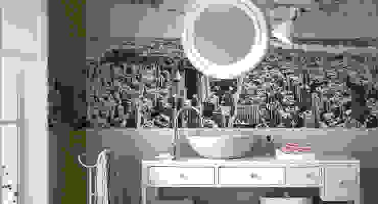 Progetto bagno Bagno moderno di Massimiliano Toniol Moderno