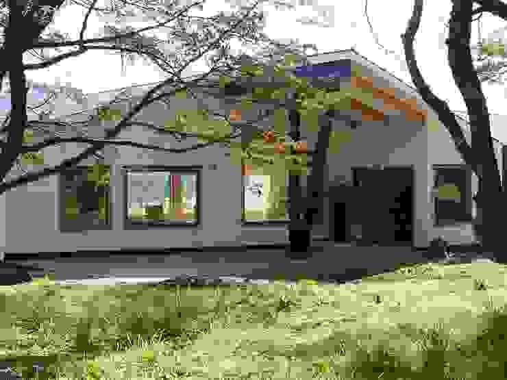 VISTA DEL ACCESO Casas estilo moderno: ideas, arquitectura e imágenes de U.R.Q. Arquitectura Moderno