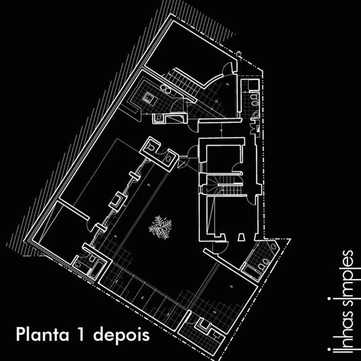 Lower layout plan - AFTER de Linhas Simples