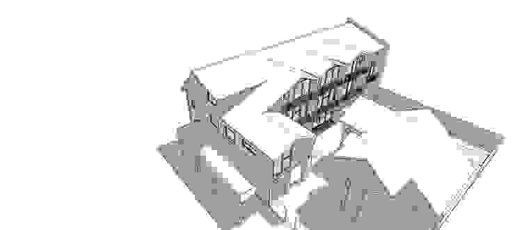 BOCETO DE PERSPECTIVA AEREA de U.R.Q. Arquitectura