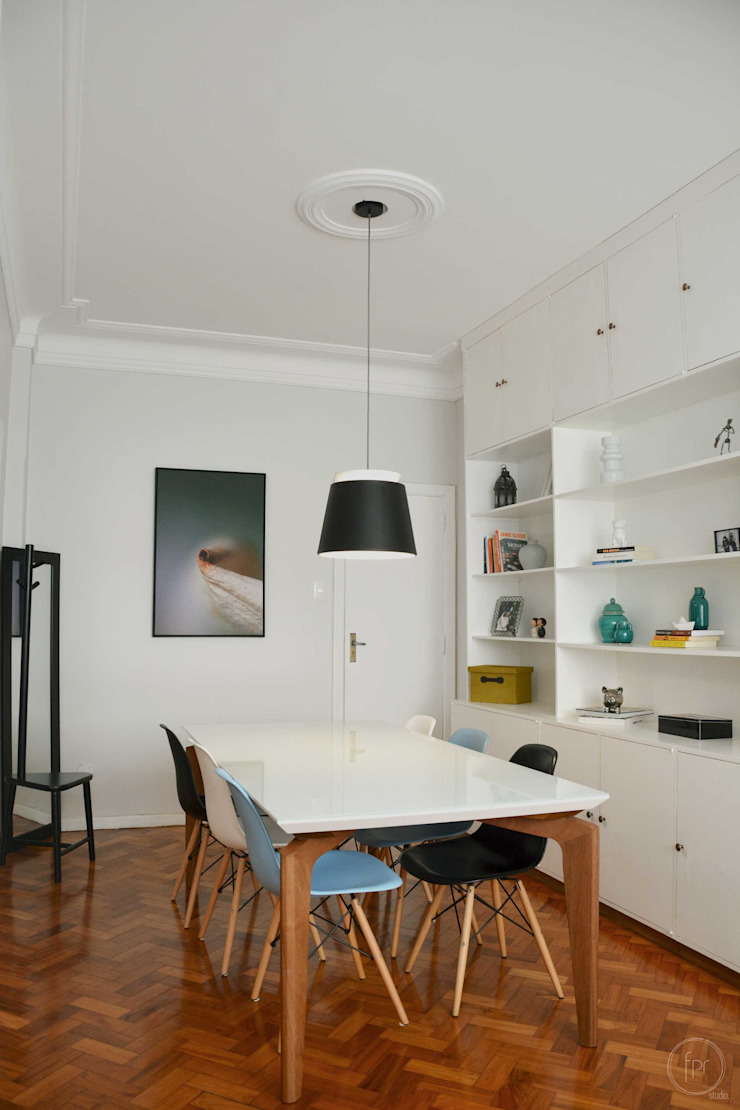 Industrial style dining room by fpr Studio Industrial