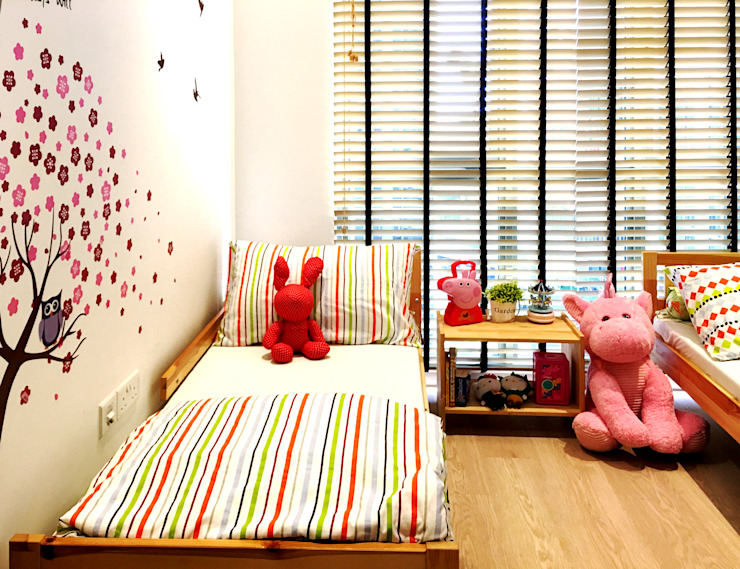 kids room RSDS Architects Nursery/kid's room