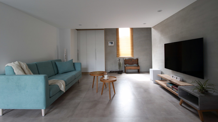 02 根據 樂沐室內設計有限公司 北歐風 強化水泥