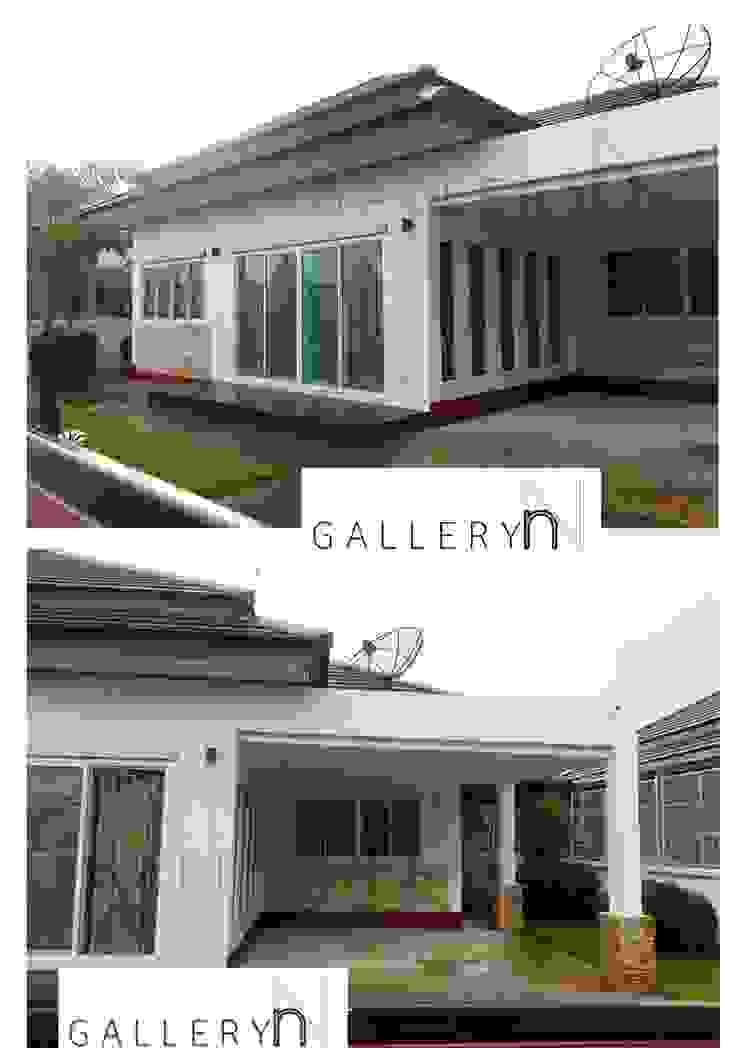 GN02:: บ้านชั้นเดียว สไตล์รีสอร์ท โดย penmitrdesignbuilder