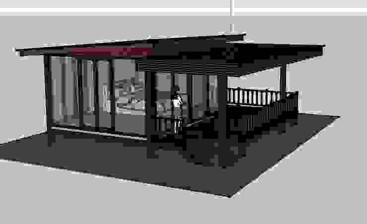 บ้านพักตากอากาศชั้นเดียว 1ห้องนอน 1ห้องนํ้า โดย เจแอนด์เจ