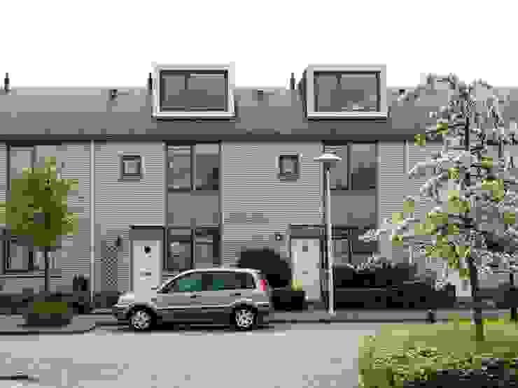Verbouw 2 woningen te Utrecht (nieuwe situatie voorgevel) van CMOarchitect bna