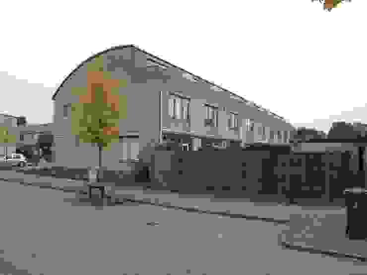 Verbouw 2 woningen te Utrecht (bestaande situatie achtergevel) van CMOarchitect bna