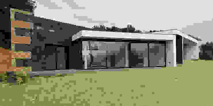 現代房屋設計點子、靈感 & 圖片 根據 Hugo Pereira Arquitetos 現代風