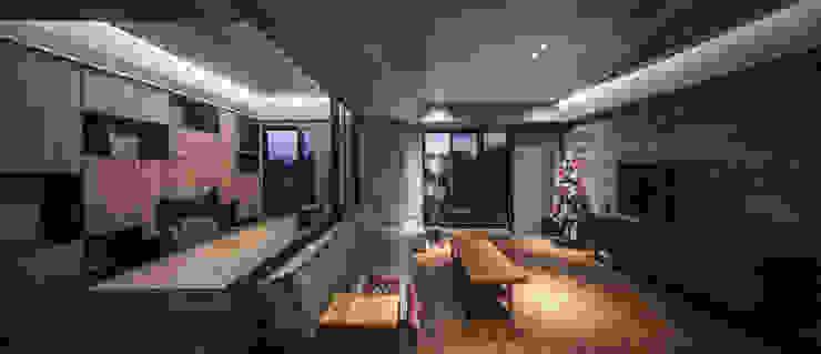02 根據 樂沐室內設計有限公司 工業風 實木 Multicolored