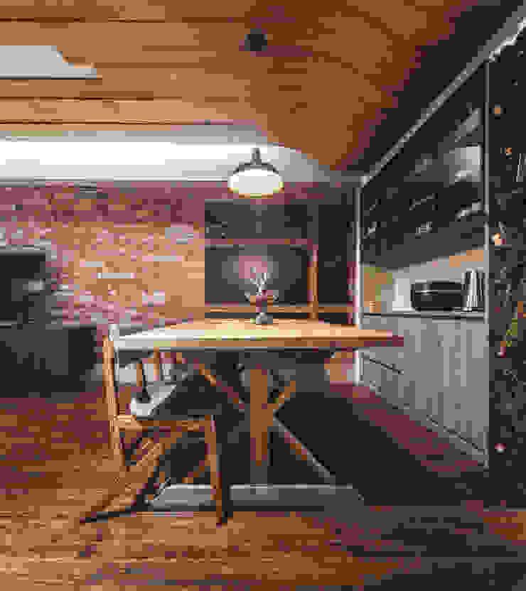 10 根據 樂沐室內設計有限公司 工業風 實木 Multicolored