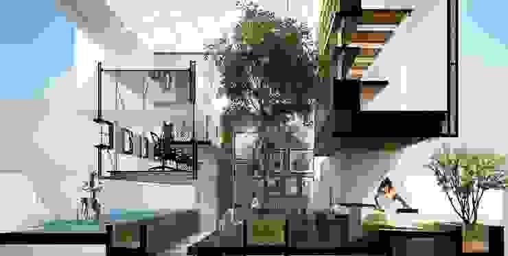 NEW DUCK UNIT OFFICE V2. โดย FATTSTUDIO ARCHITECT Co.,Ltd
