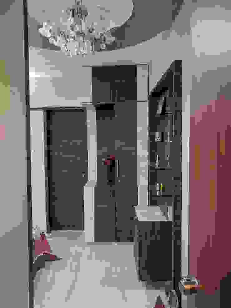 Interior Modern corridor, hallway & stairs by Dusnaam designs Modern